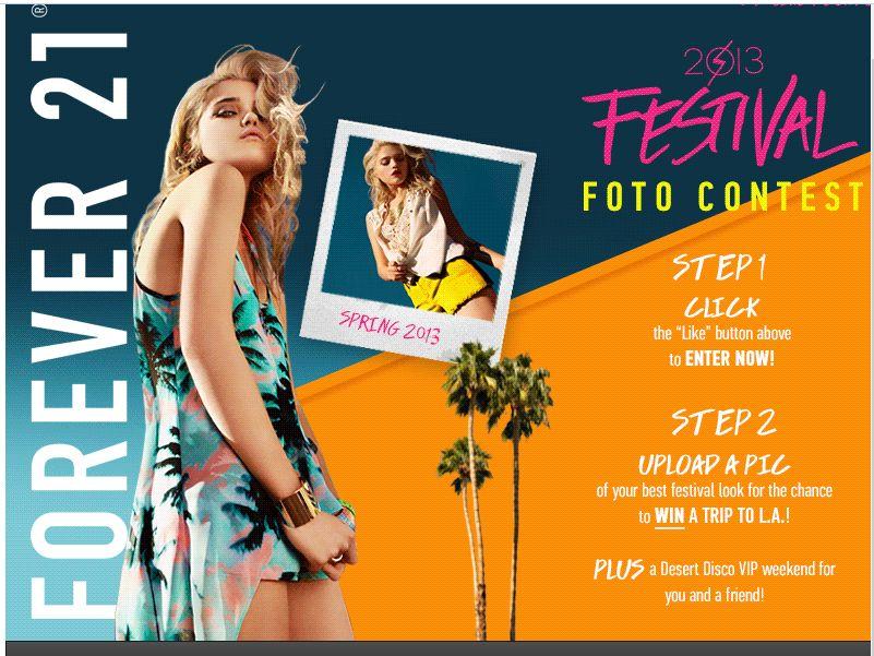 FOREVER 21 Fashion Fest Foto Contest