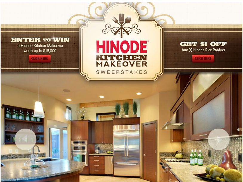 Hinode Kitchen Makeover Sweepstakes