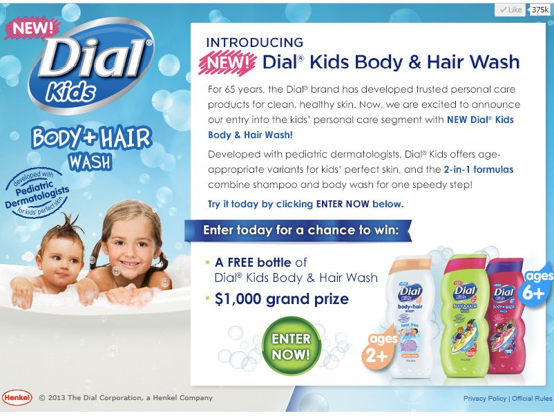 Dial Kids Giveaway