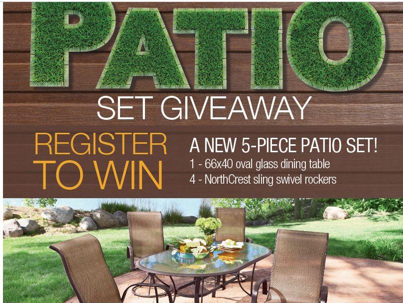 Patio Set Giveaway