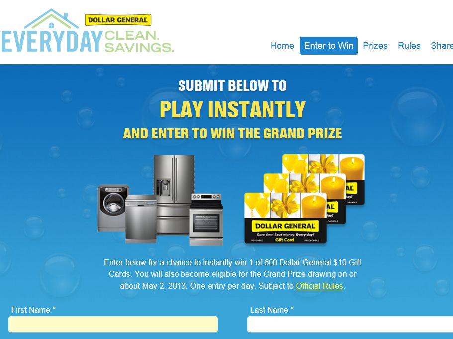 Spring Home Makeovers Sweepstakes