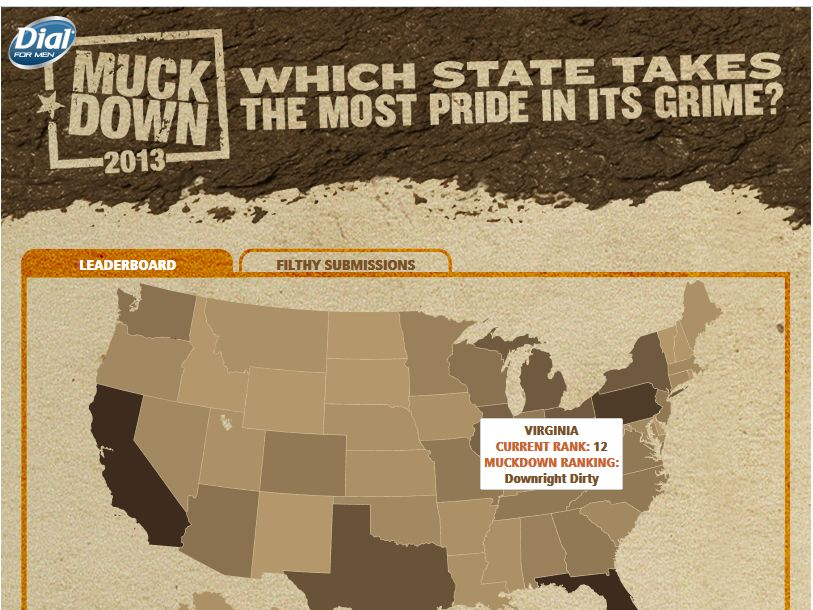 Dial for Men Muckdown Sweepstakes
