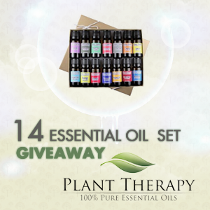 14 Essential Oil Gift Pack Giveaway