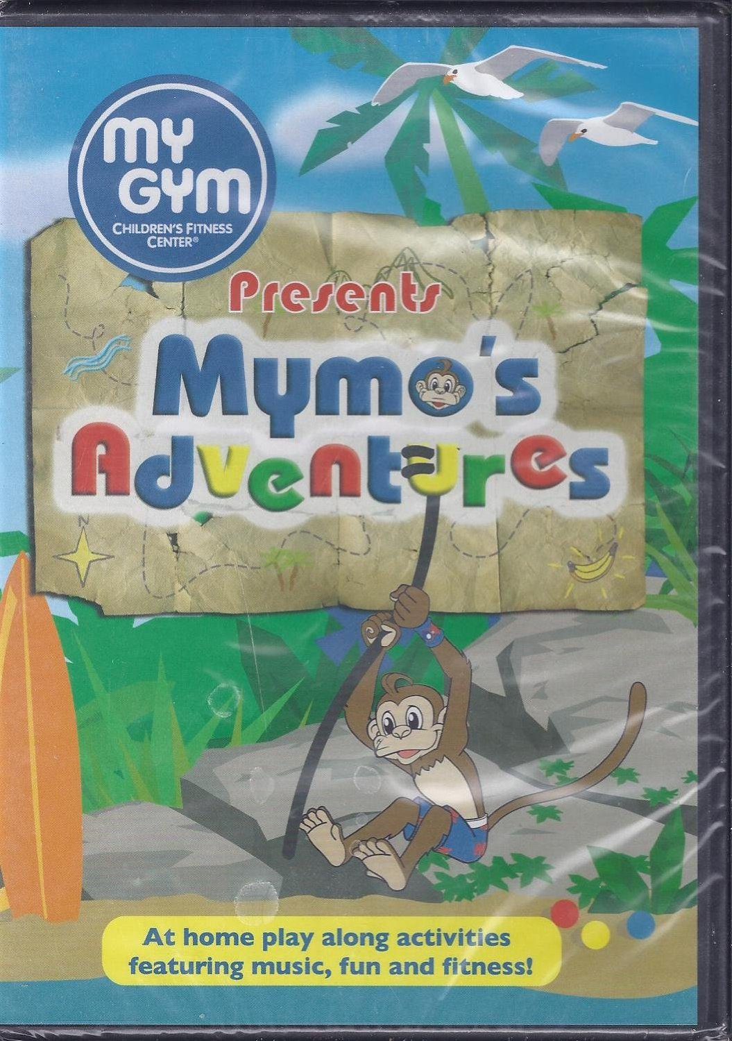My Gym Presents Mymo's Adventures DVD Giveaway
