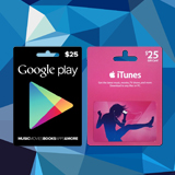 Win a $25 Gift Card to iTunes or Google Play