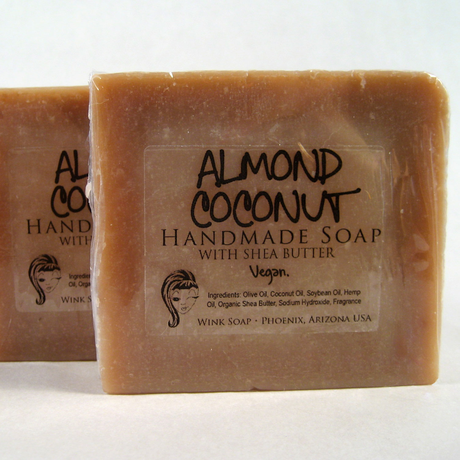 Win a Free Almond Coconut Handmade Soap Bar