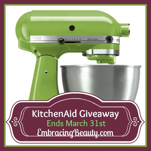 KitchenAid Green Apple Mixer!