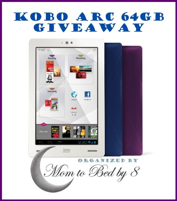 Kobo Arc Giveaway