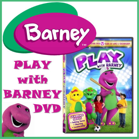 Royalegacy Reviews & More Giveaway – Play with Barney DVD