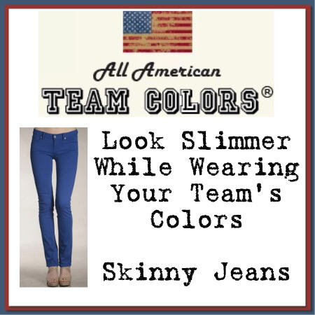 Royalegacy Reviews & More Giveaway – Pair of Team Colors Jeans from SkinnyJeans