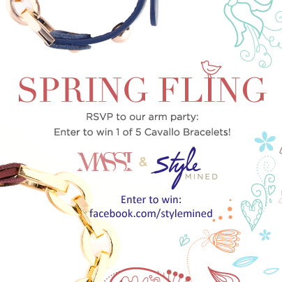 Style Mined's Spring Fling: Cavallo Bracelet Giveaway (5 winners!)