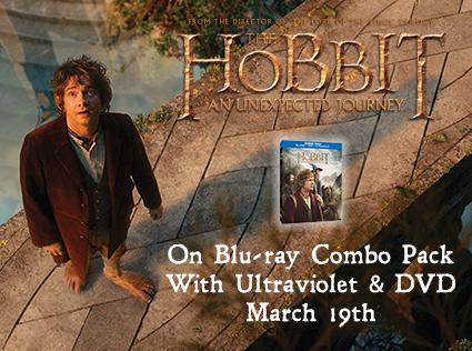 Sonya's Happenings… The Hobbit Blu-Ray Combo Pack