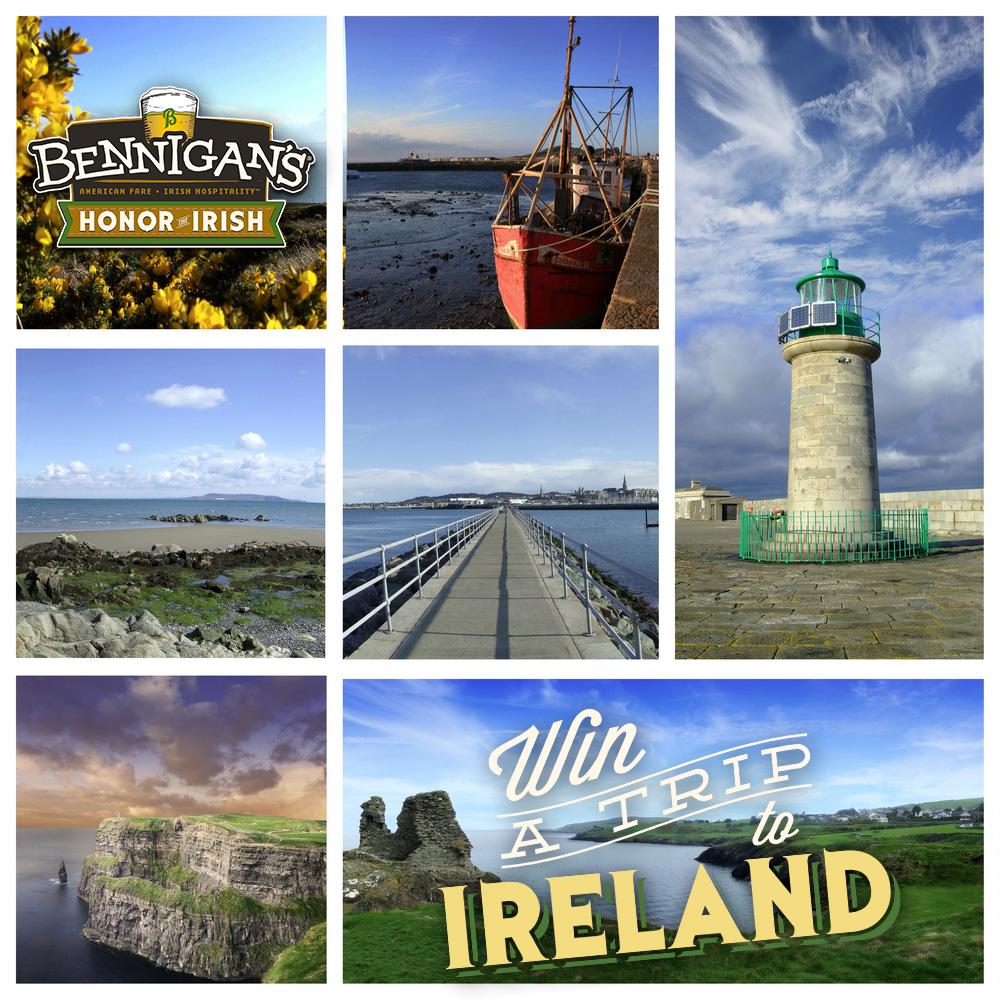 Bennigan's: Win a Trip to Ireland