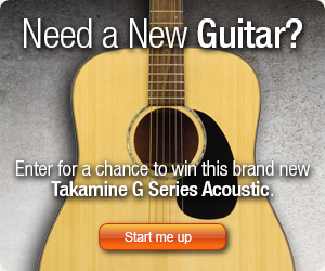 Acoustic Guitar Giveaway: Takamine G Series