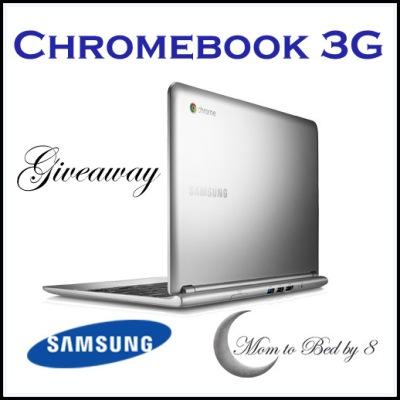 Chromebook 3G Giveaway