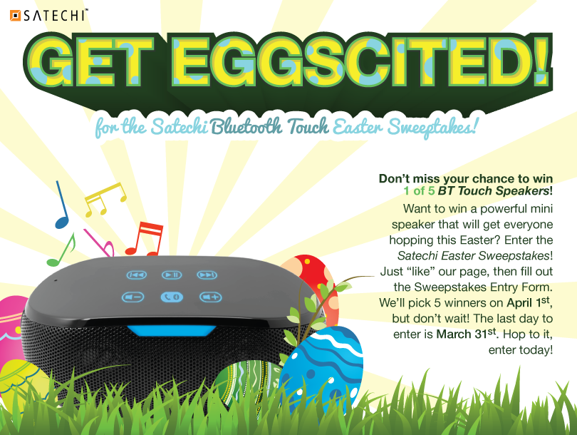 Satechi Bluetooth Touch Easter Sweepstakes
