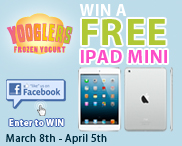 Win a 16GB iPad (Ends 4/5, US Only) – Multiple Entries Accepted