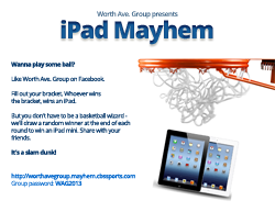 Win an iPad or iPad mini from Worth Ave. Group