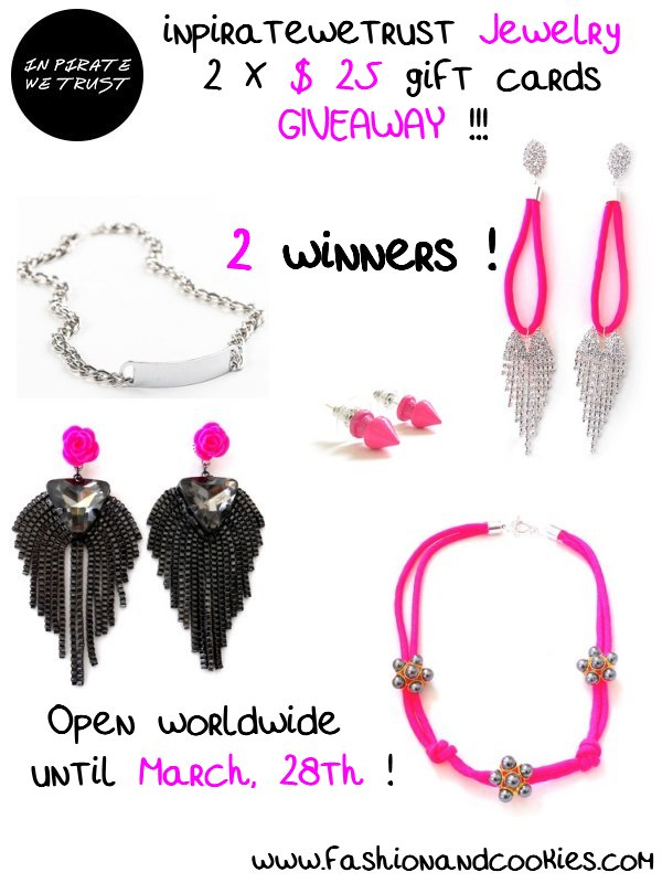 In Pirate We Trust Jewelry Giveaway