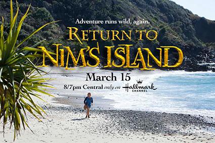 Return To Nims Island Blu-ray Combo Pack