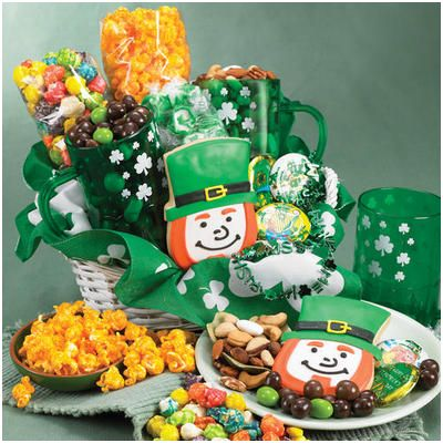 St. Patty's Party Gift Basket 3/14