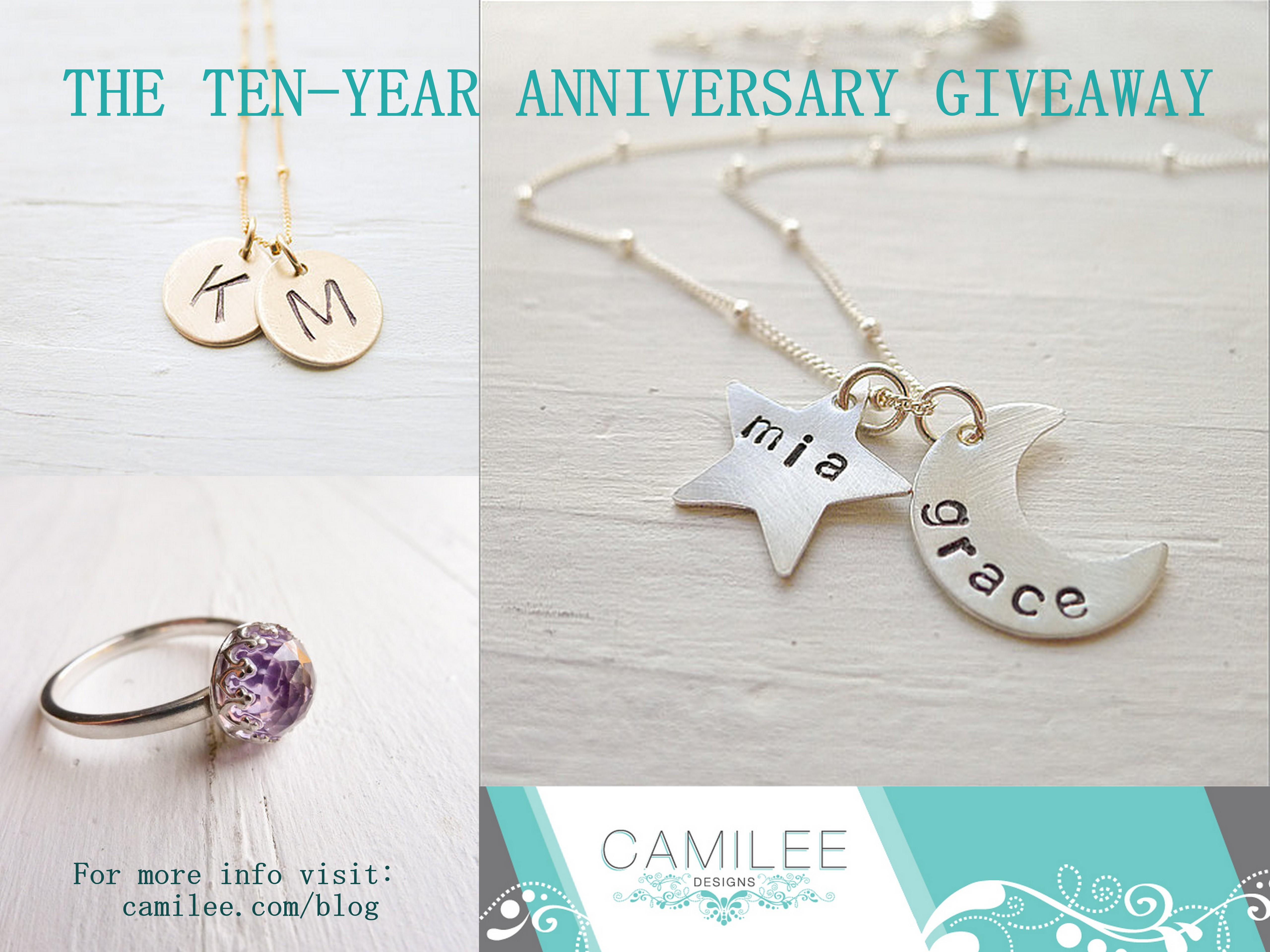 Personalized Boutique Jewelry Giveaway