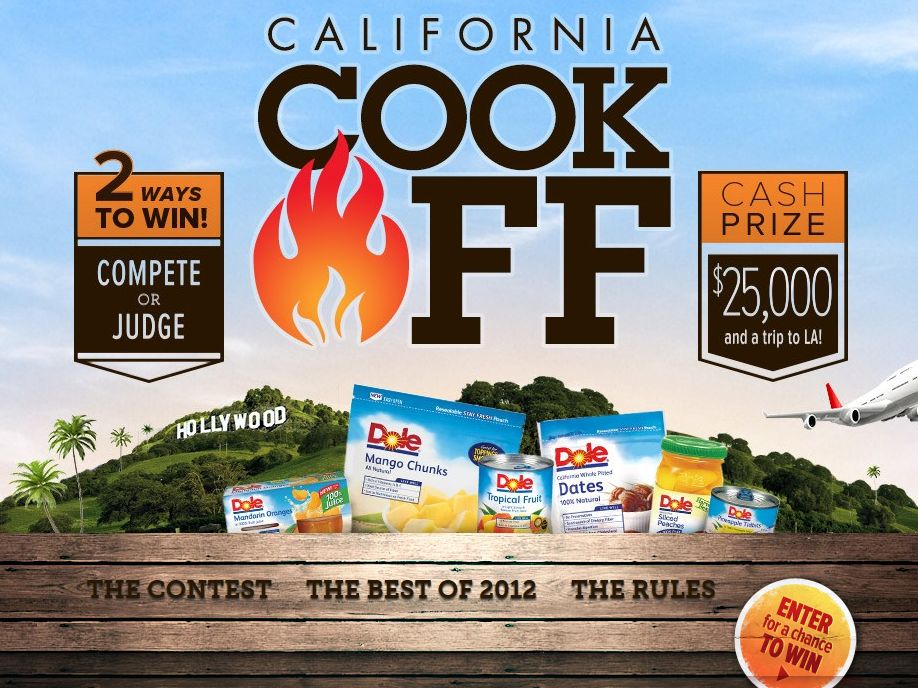 2013 DOLE California Cook-Off Sweepstakes