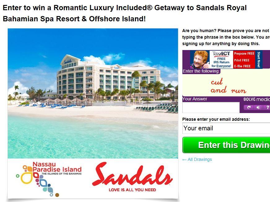 Romantic Luxury Getaway to Sandals Royal Bahamian Spa Resort
