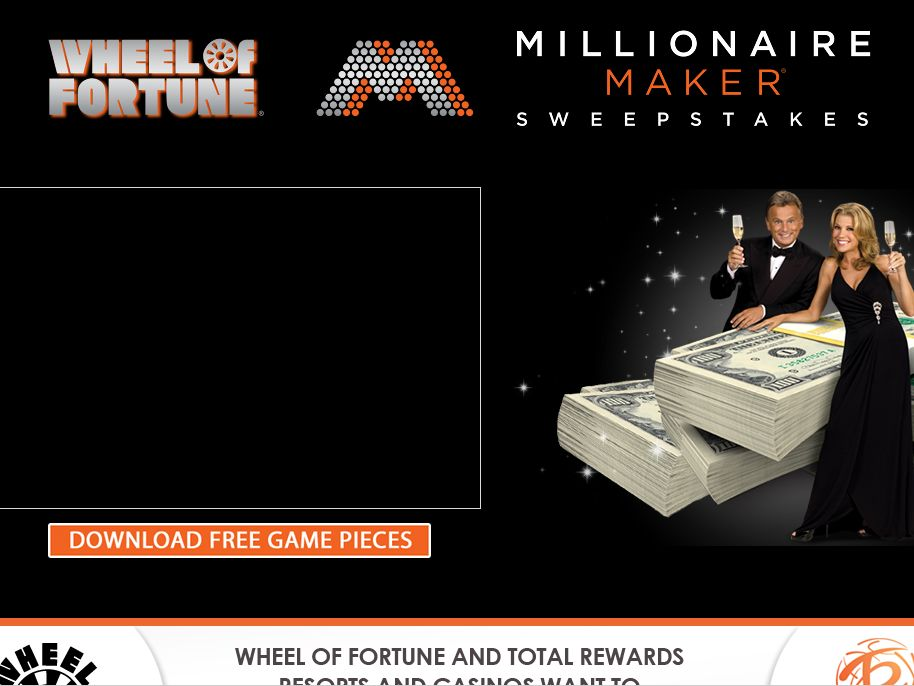 Wheel of Fortune Millionaire Maker Sweepstakes