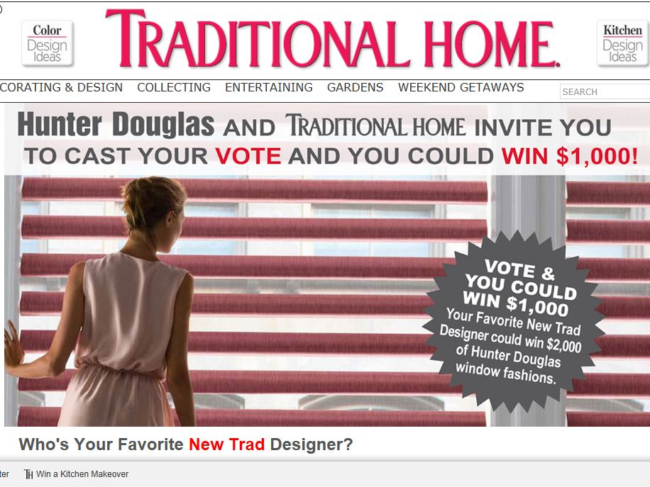 New Trad Sweepstakes