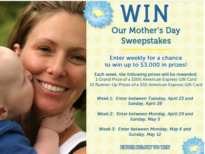 Gerber Childrenswear Mother's Day Sweepstakes