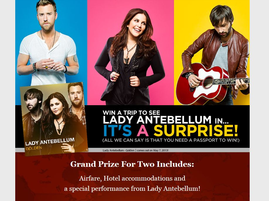 Lady Antebellum Promotion