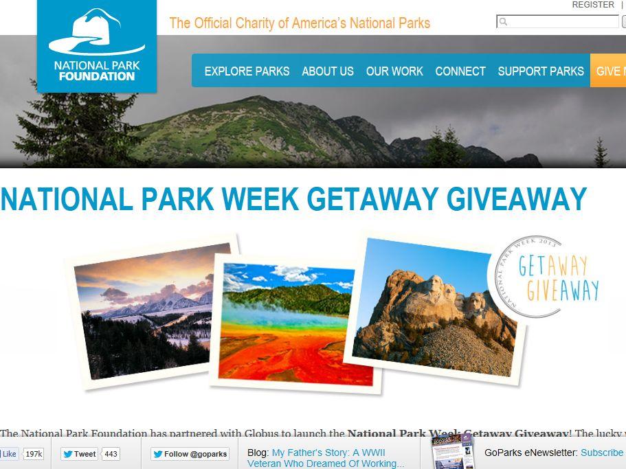 National Park Week Sweepstakes