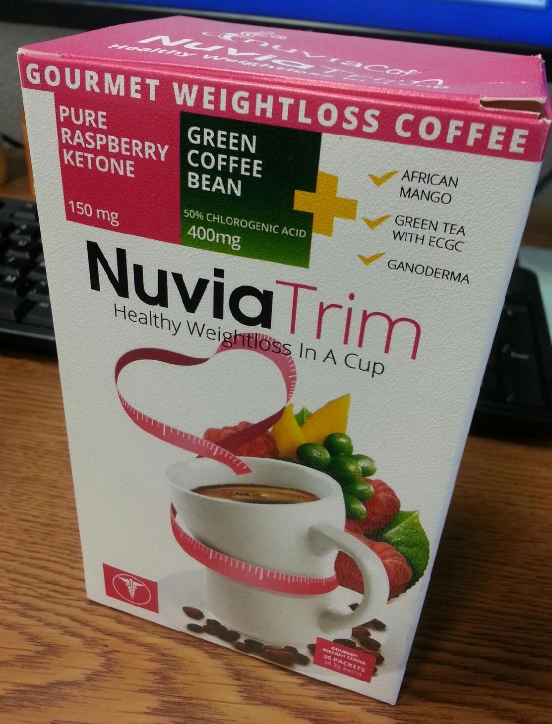 Win NuviaTrim Gourmet Weightloss Coffee