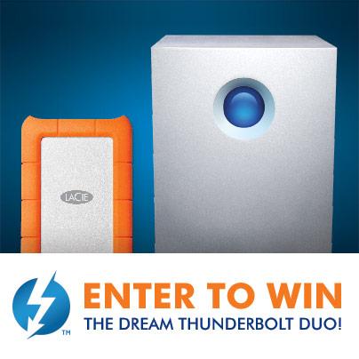 LaCie Dream Thunderbolt Duo