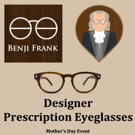 Royalegacy Reviews & More Giveaway – $100 Benji Frank Designer Prescription Glasses