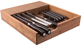KnifeDock.com: In-Drawer Knife Block & Knife Organizer Giveaway