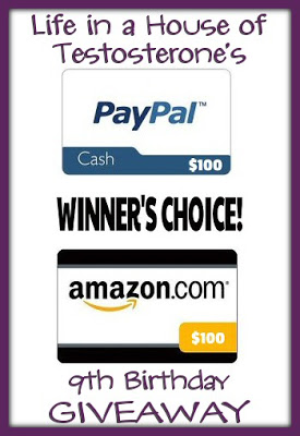 $100 Cash – 9th Anniversary Giveaway