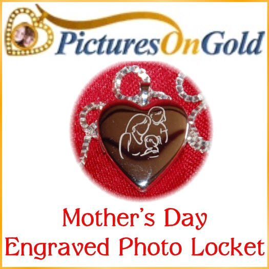 Royalegacy Reviews & More Giveaway – Mother's Day Engraved Photo Locket from PicturesOnGold.com