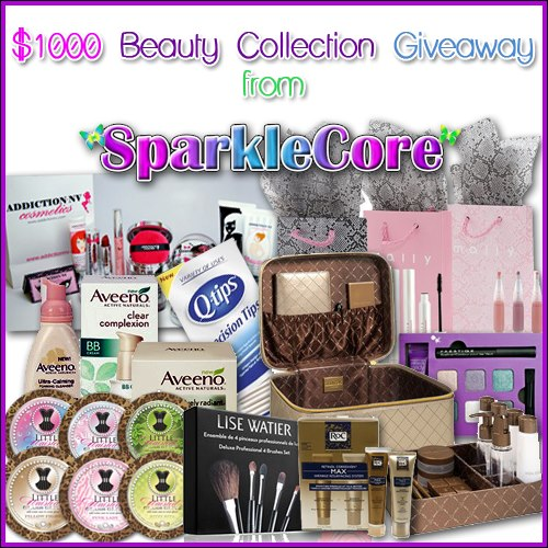 $1000 Beauty Collection Makeover Giveaway! 3 Winners!