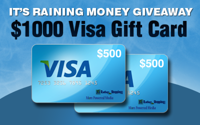 It's Raining $1000 Visa Money Giveaway