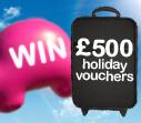 Win 2 x £500 worth of Superbreak Mini Holiday vouchers with webuyanycar.com