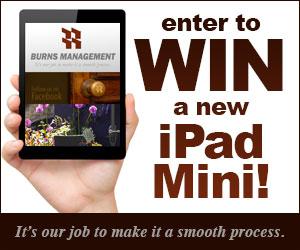 Burns Management iPad Mini Giveaway