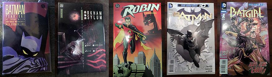 Batman Comics Giveaway