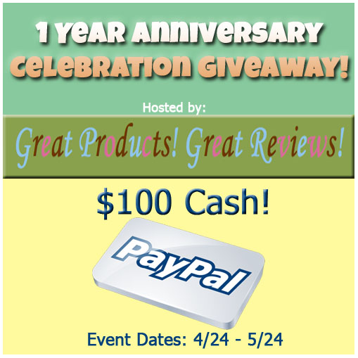 $100 Paypal Cash Giveaway