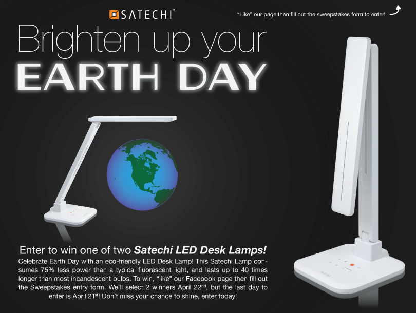 Satechi Earth Day Sweepstakes