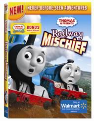 Thomas and Friends Railway Mischief DVD