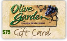 Eighty MPH Mom – $75 Olive Garden Gift Card