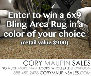 Cory Maupin Sales Area Rug Giveaway