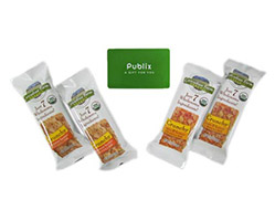 $25 Publix Gift Card and Cascadian Farms Crunchy Bars!